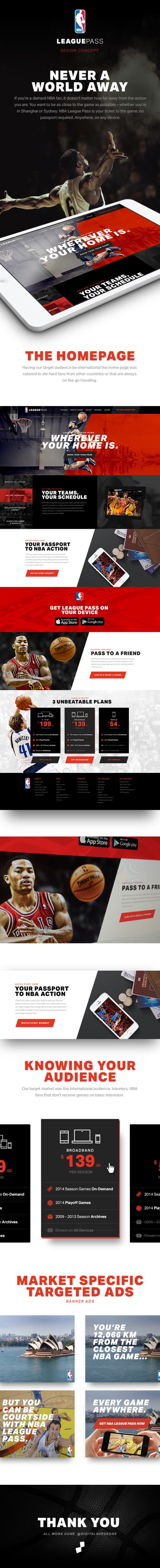 NBA League Pass por Matt Pringle & Rob Kurfehs de Estados Unidos
