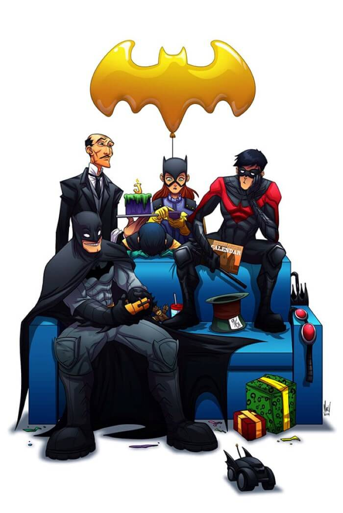Paranoidvin bat family