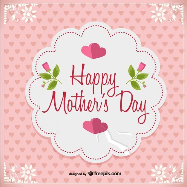 vectores tarjetas dia de las madres 14