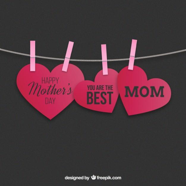 vectores tarjetas dia de las madres 7