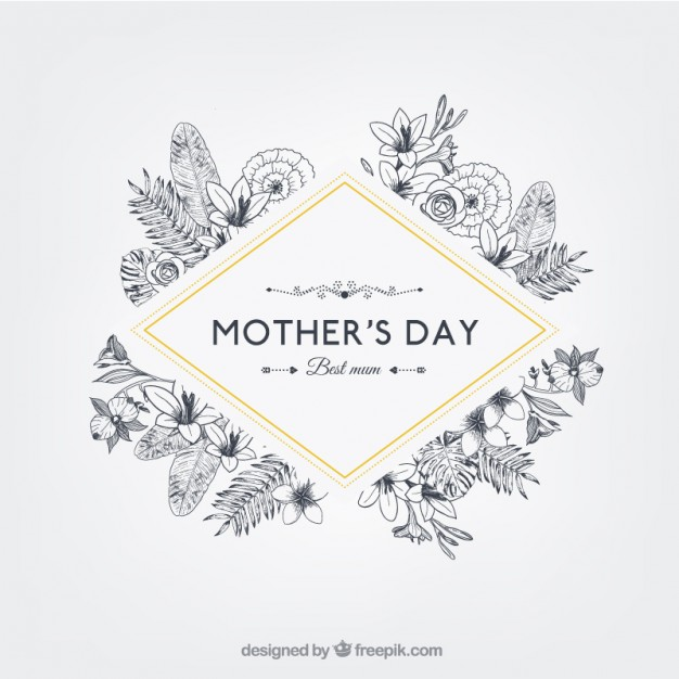 vectores tarjetas dia de las madres 8