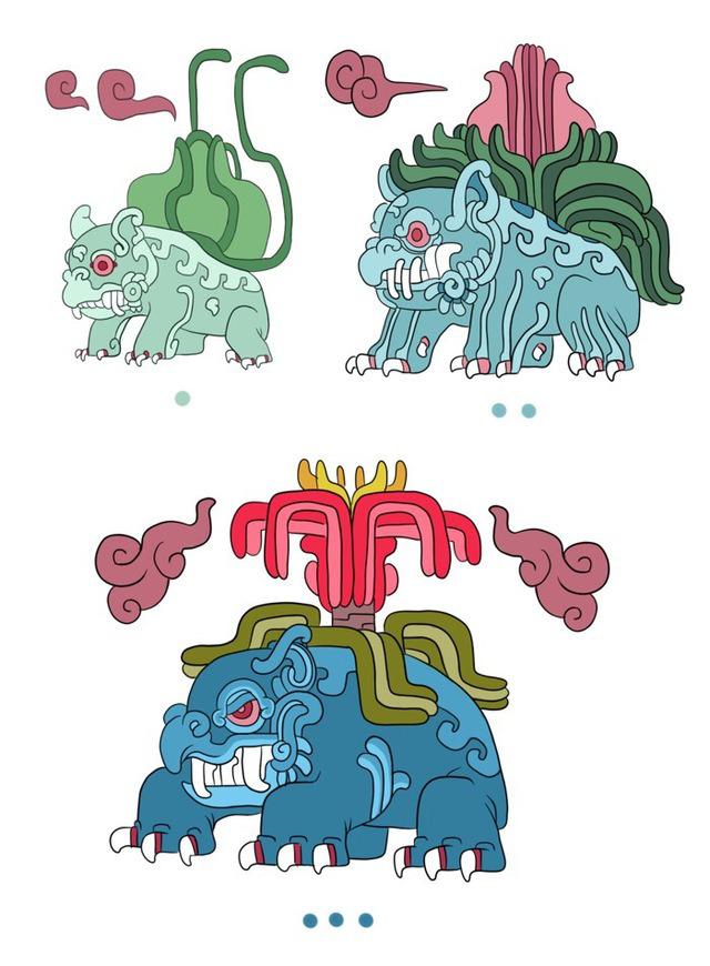 Pokemons arte maya img 5