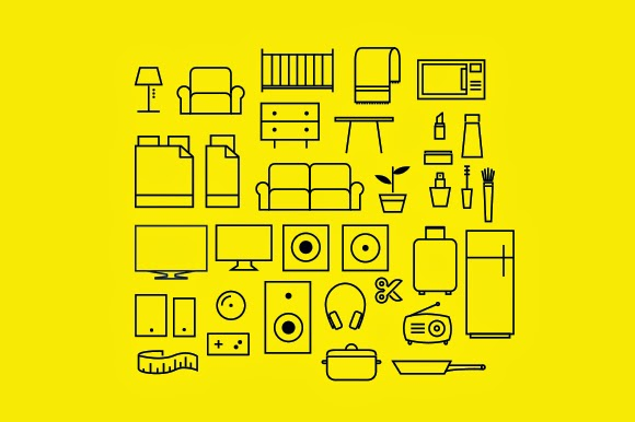 iconos muebles