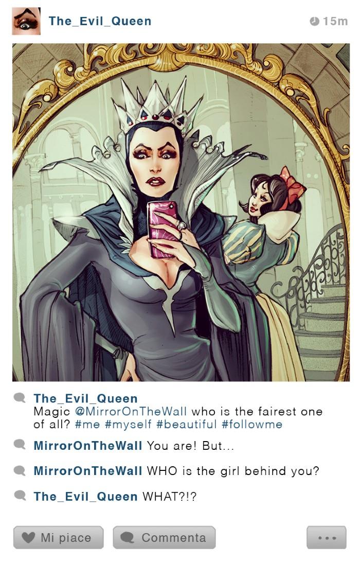 personajes disney instagram malefica