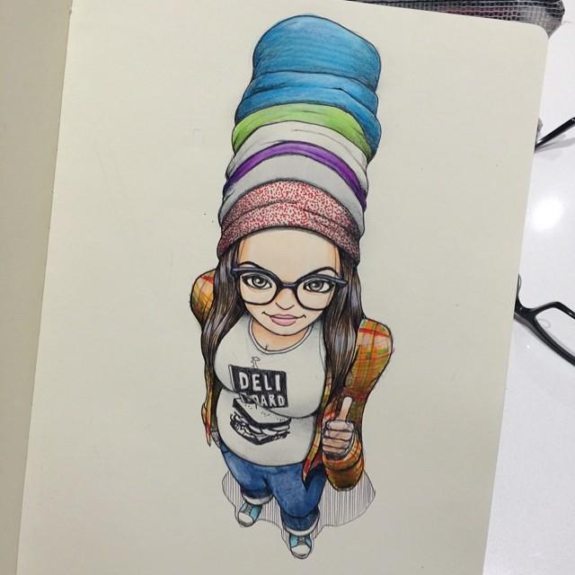 sketches Norio Fujikawa img 1