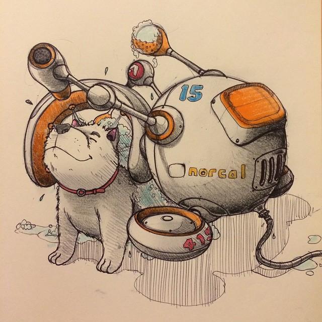 sketches Norio Fujikawa img 10