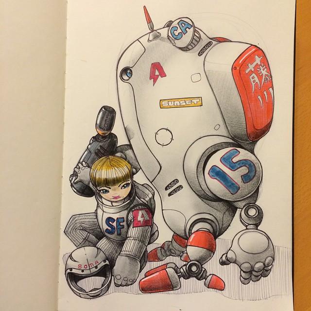 sketches Norio Fujikawa img 11