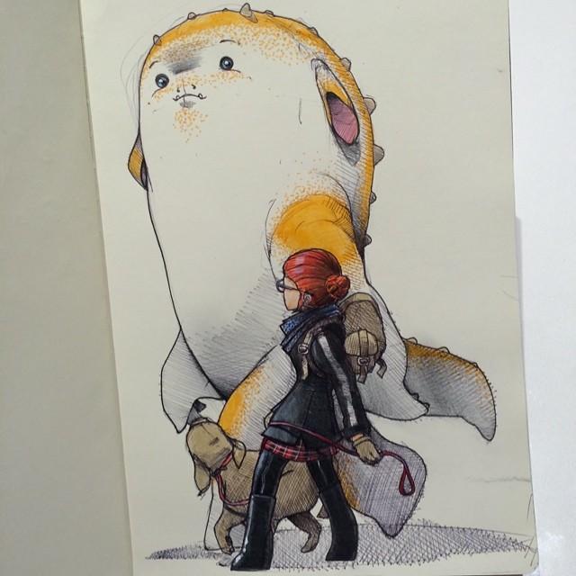 sketches Norio Fujikawa img 3