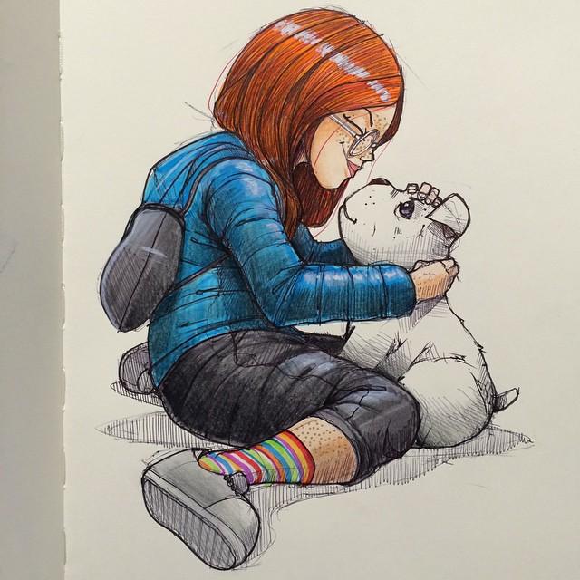 sketches Norio Fujikawa img 7