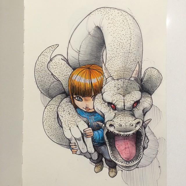 sketches Norio Fujikawa img 8