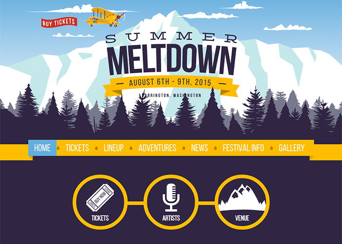 Summer Meltdown Festival por Lion's Share Digital de Estados Unidos