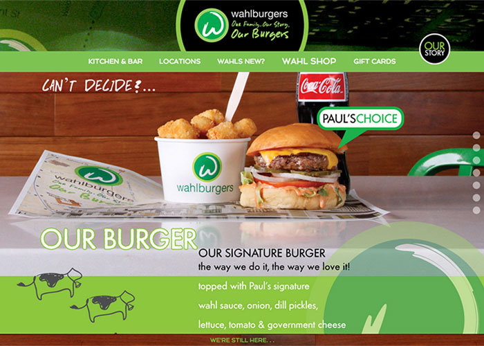 Wahlburgers Corporate por The Mac Groups, Inc. de Estados Unidos
