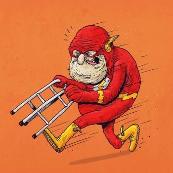 personajes caricaturas viejos flash