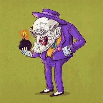 personajes caricaturas viejos guason