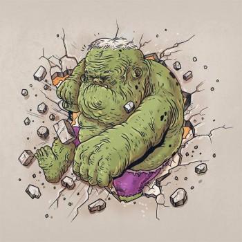 personajes caricaturas viejos hulk