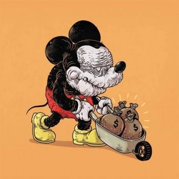 personajes caricaturas viejos mickey mouse
