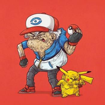 personajes caricaturas viejos pokemon