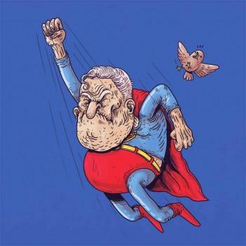 personajes caricaturas viejos superman