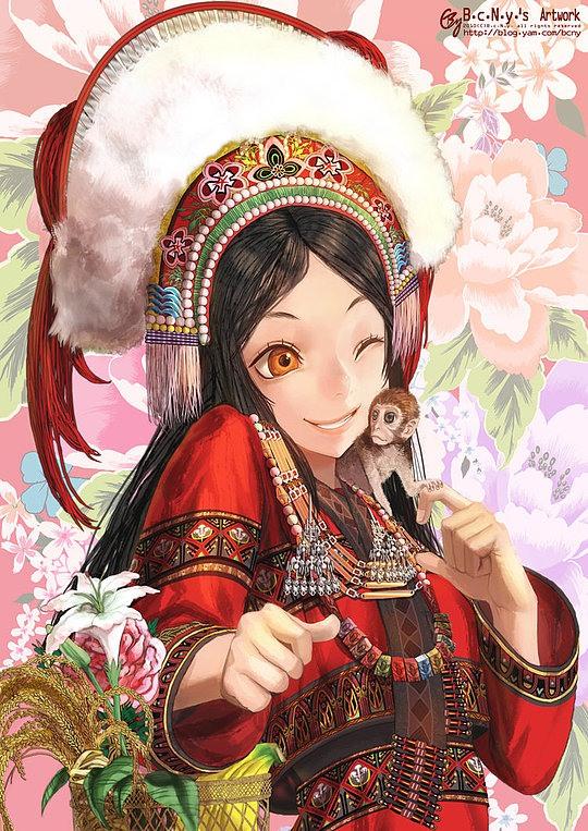 Ilustraciones Estilo Anime Por B C N Y De Taiwan Frogx