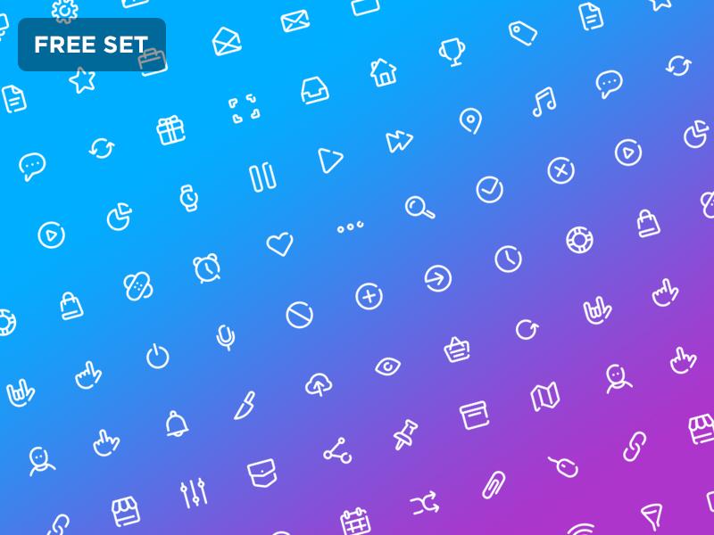 72 Line Icons