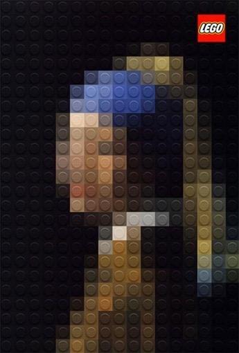 Obras De Arte En Pixel Art Realizadas Con Fichas Lego