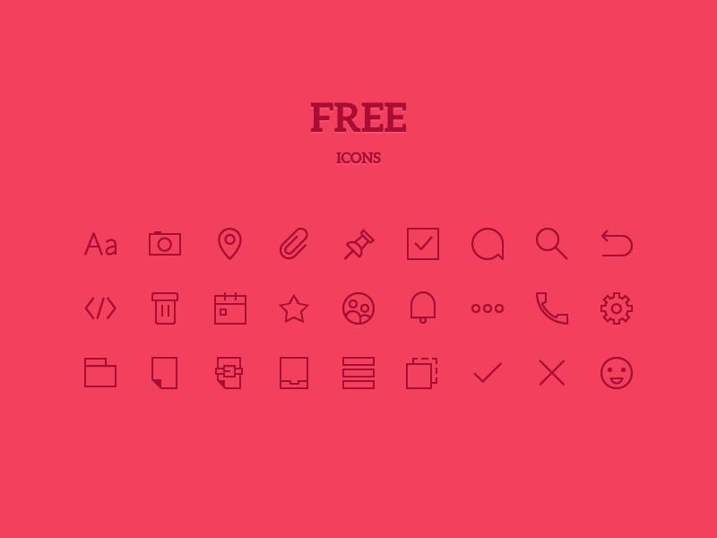 Iconos para aplicaciones web