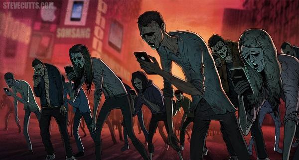 Steve Cutts ilustraciones satira de la vida moderna img 0