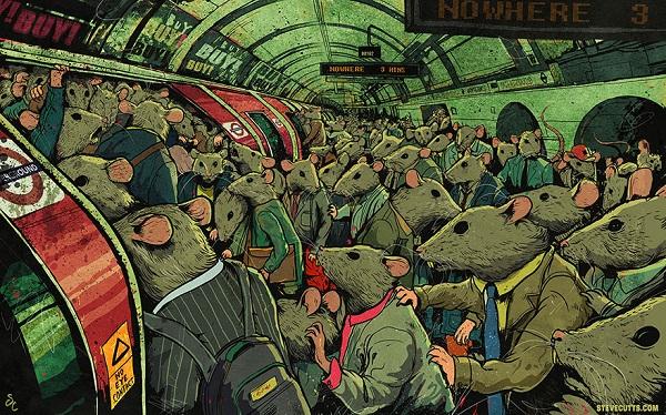 Steve Cutts ilustraciones satira de la vida moderna img 2