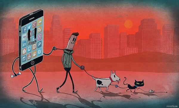 Steve Cutts ilustraciones satira de la vida moderna img 5