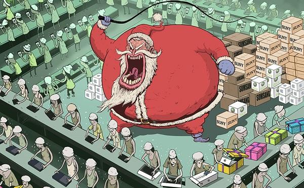 Steve Cutts ilustraciones satira de la vida moderna img 6