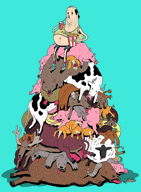 Steve Cutts ilustraciones satira de la vida moderna img 7