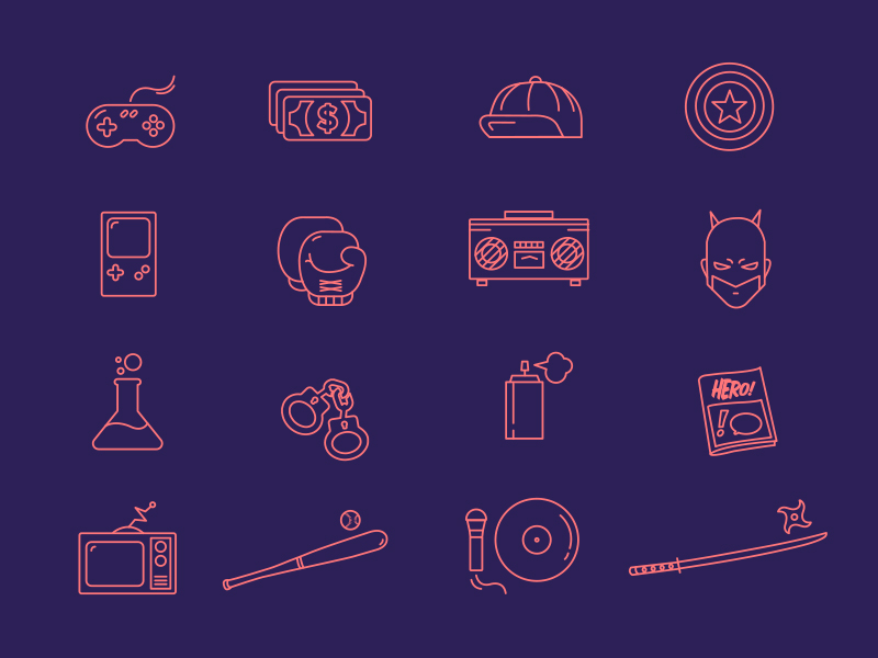 Iconos Geeks