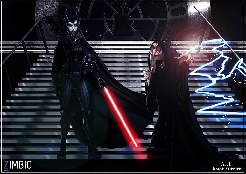 parodia personajes de disney star wars 6