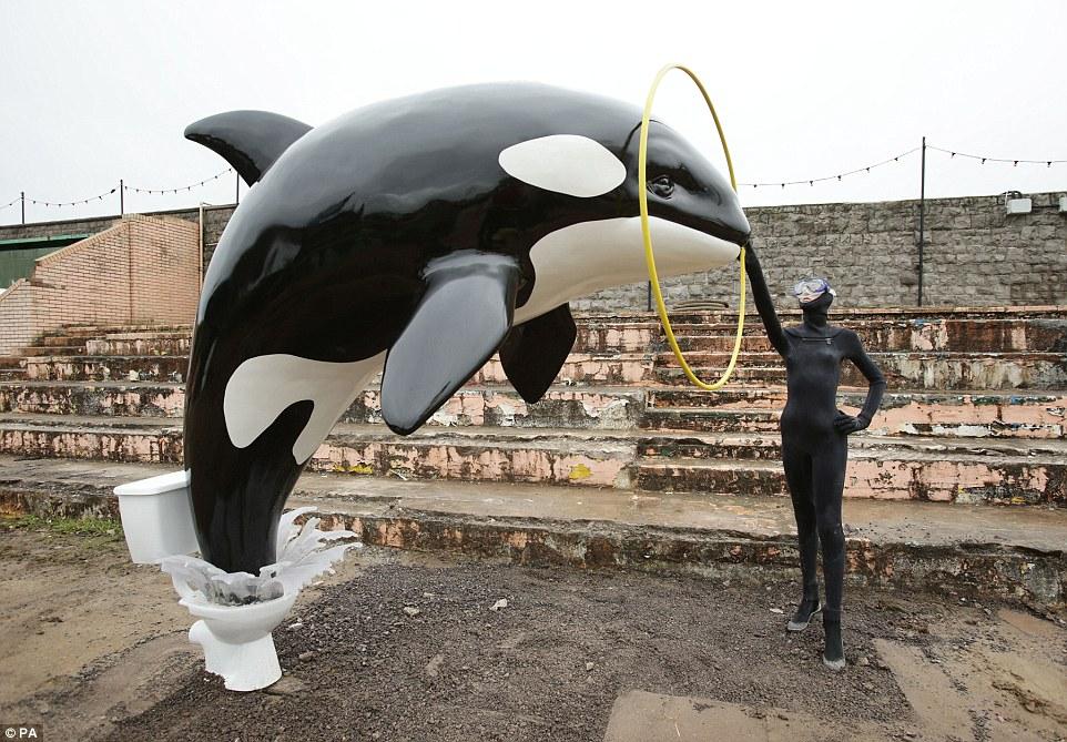 parque tematico dismaland Banksy 5