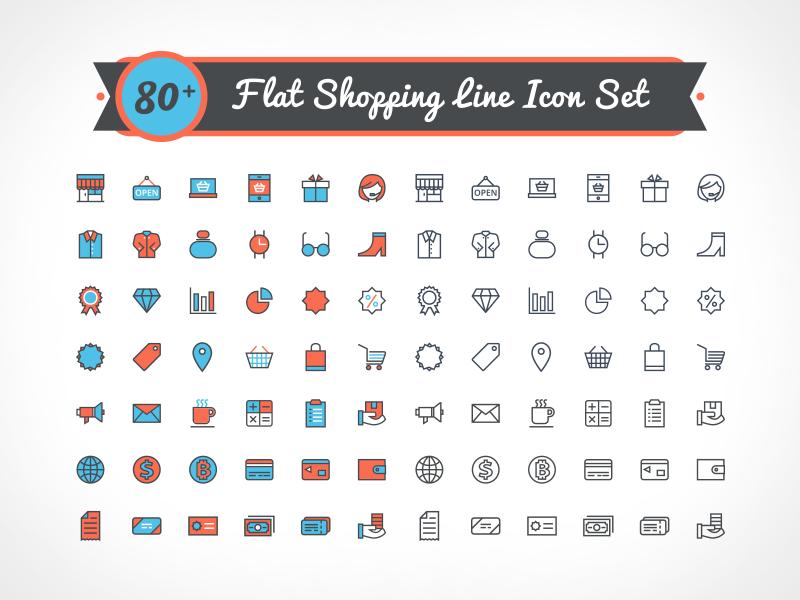 Iconos para tiendas en linea