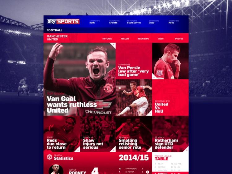 Sky Sports Concept