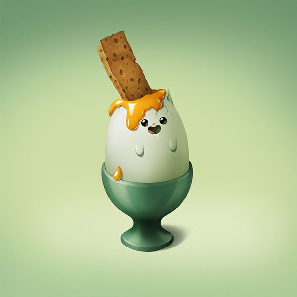 huevo palet