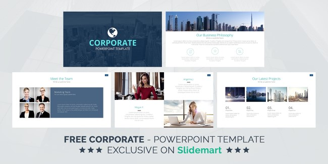 Template PowerPoint: Corporativa