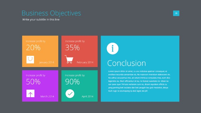 Template PowerPoint: Profesional
