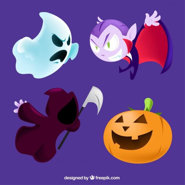 vectores halloween 17