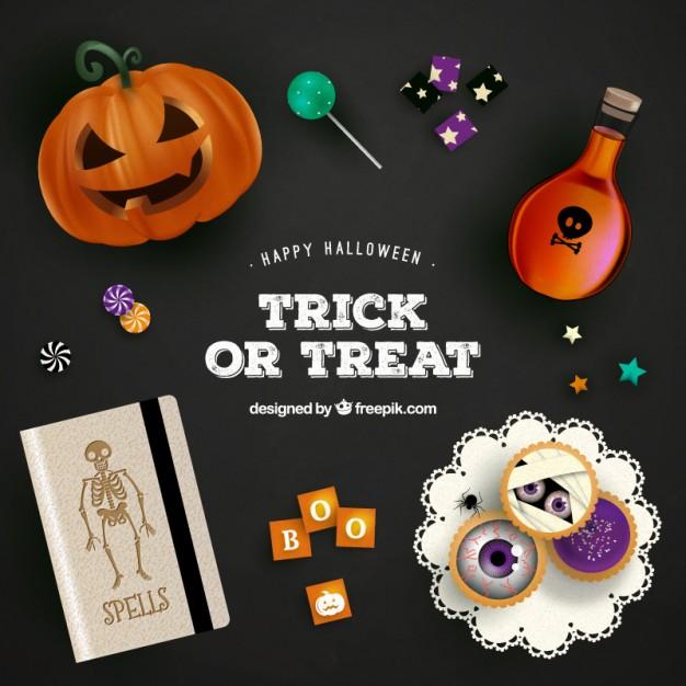 vectores halloween 4