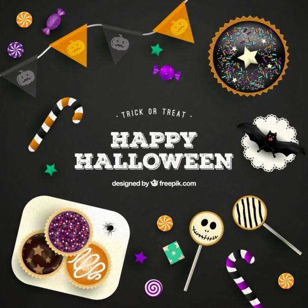 vectores halloween 5