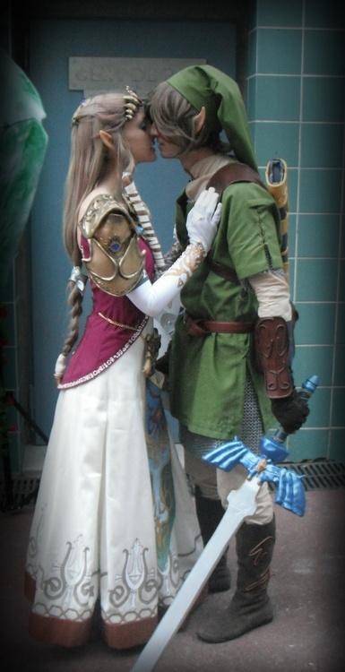 Zelda y Link