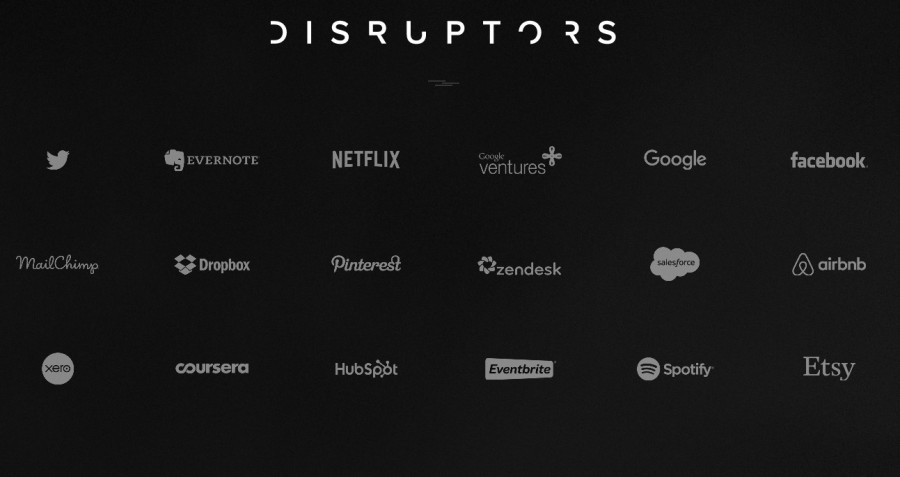 Design Disruptors black