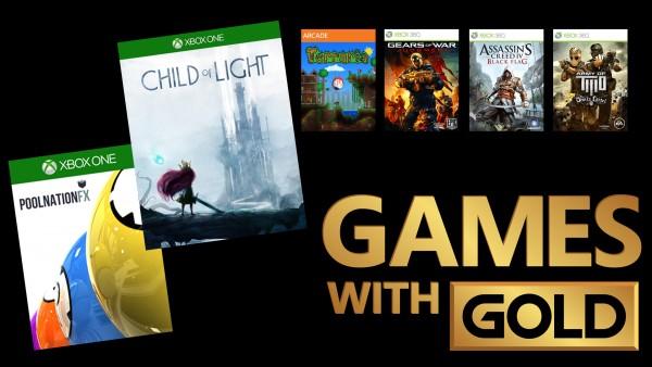 GamesWithGoldApril