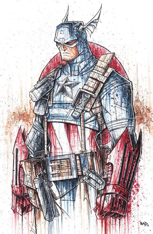 capitan america Rob Duenas