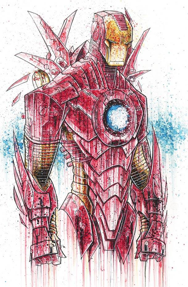iron man Rob Duenas