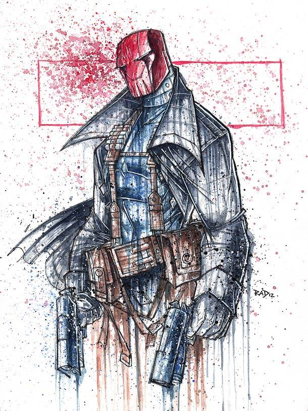 red hood Rob Duenas