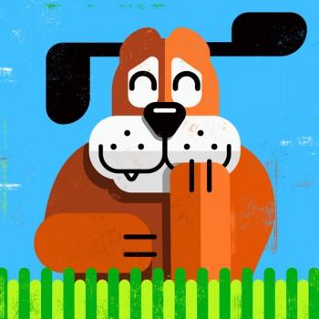 """Perro de """"Duck & Hunt"""""""