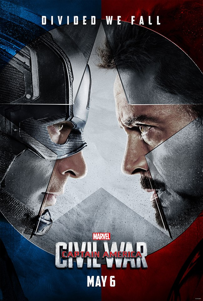 poster capitan america civil war